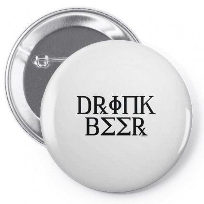 Drink Beer Sorority Pin-back Button Designed By Arsyad