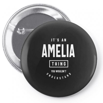 It's An Amelia Thing: Personalized First Name Gifts Pin-back Button Designed By Cidolopez