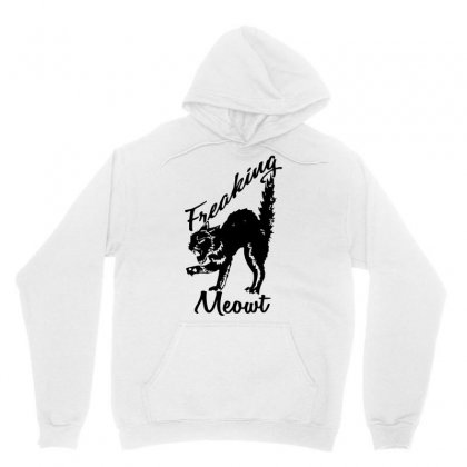 Freaking Meowt Funny Cat Unisex Hoodie Designed By Fanshirt
