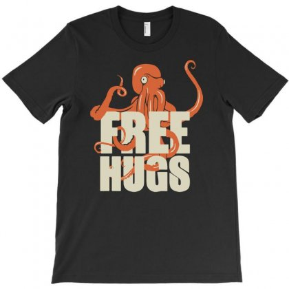 Free Hugs T-shirt Designed By Fanshirt