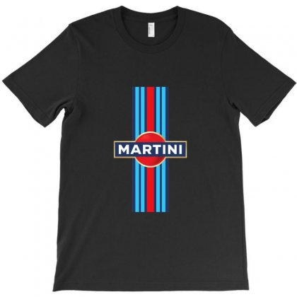 Martini Racing Retro T-shirt Designed By Peri