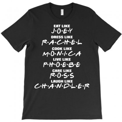 Friends Tv Show Sitcom Funny T-shirt Designed By Fanshirt
