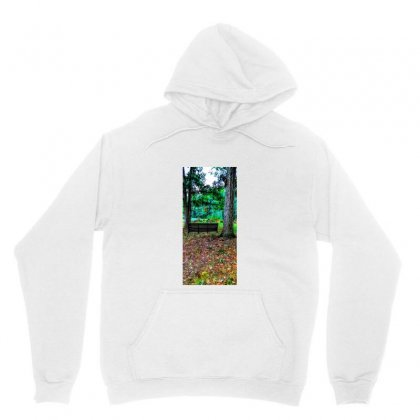Old Swing On An Oak Tree Unisex Hoodie Designed By Unscathed