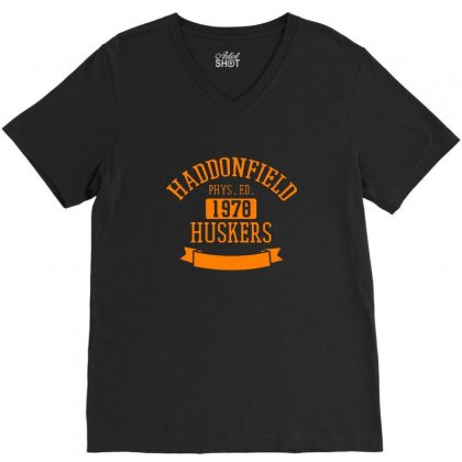 Haddonfield High Class Of 1978 V-neck Tee Designed By Peri