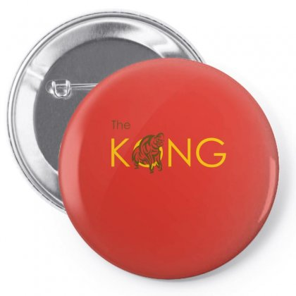 The Kong Pin-back Button Designed By Artwoman