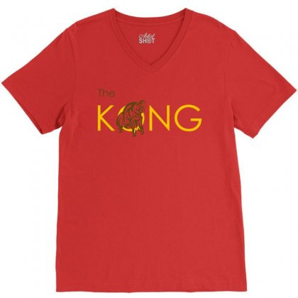 The Kong V-neck Tee Designed By Artwoman