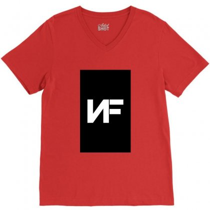 Nf Merchandise V-neck Tee Designed By Peri