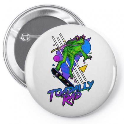 Toadally Rad Pin-back Button Designed By Artwoman