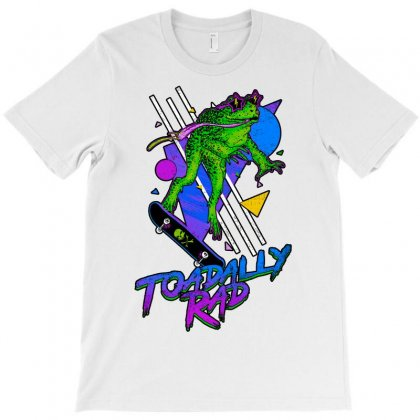 Toadally Rad T-shirt Designed By Artwoman