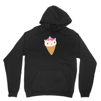 Little Cat Is Actually An Ice Cream Cone Unisex Hoodie Designed By Arsyad
