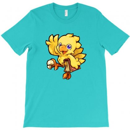 Chocobo T-shirt Designed By Krisshatta