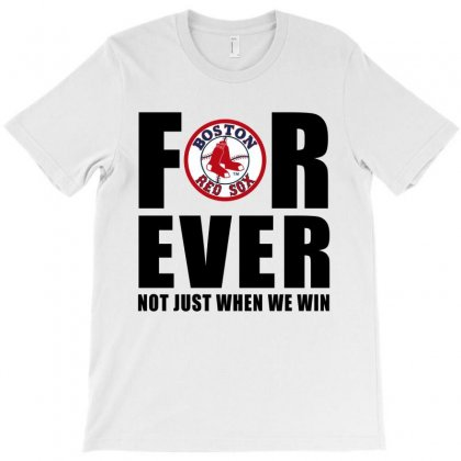 Forever Boston Baseball T-shirt Designed By Zidane24