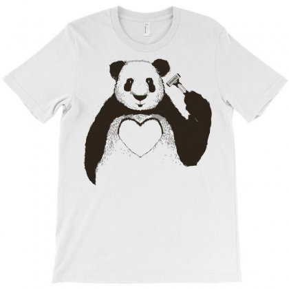 Love Panda T-shirt Designed By Arsyad