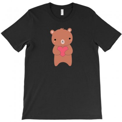 Loving Kawaii Brown Bear T-shirt Designed By Arsyad