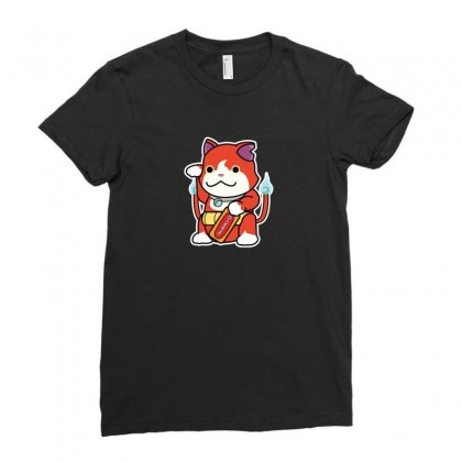 Lucky Monster Ladies Fitted T-shirt Designed By Arsyad
