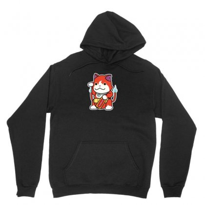 Lucky Monster Unisex Hoodie Designed By Arsyad