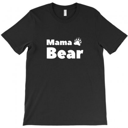 Mama Bear Loves Her Children T-shirt Designed By Arsyad