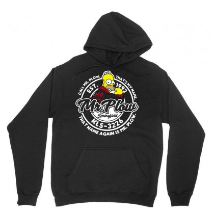 Mr Plow Unisex Hoodie Designed By Arsyad