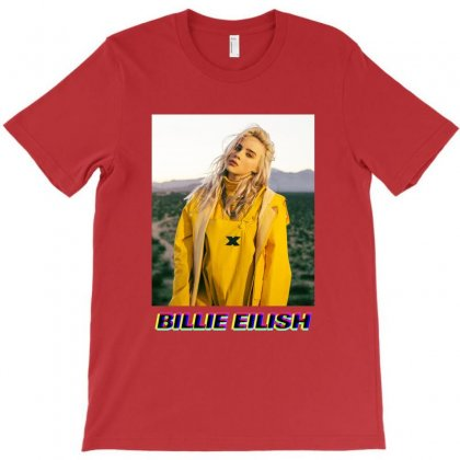 Billie Eilish Merch T-shirt Designed By Krisshatta