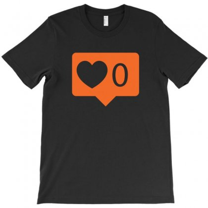 No Love Notification T-shirt Designed By Arsyad