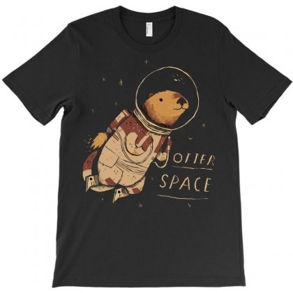 Otter Space T-shirt Designed By Arsyad