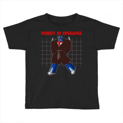 Robot In Disguise New Toddler T-shirt Designed By Arsyad
