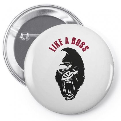 Like A Boos Pin-back Button Designed By Wizarts
