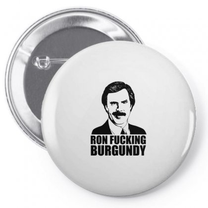 Ron Fucking Burgundy Pin-back Button Designed By Arsyad