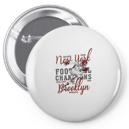 American Football New York For Light Pin-back Button Designed By Gurkan