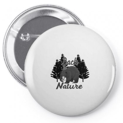 Back To Nature Pin-back Button Designed By Gurkan