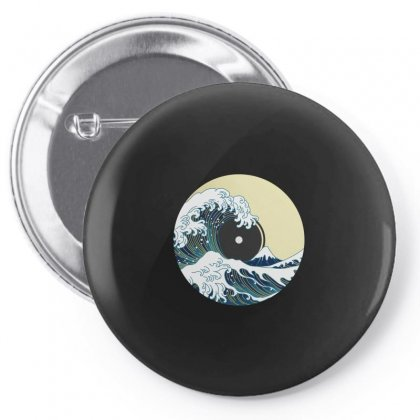 Record Wave Pin-back Button Designed By Gurkan