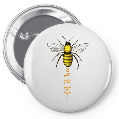 Let It Bee Pin-back Button Designed By Sengul