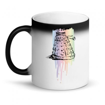 Color Dalek Magic Mug Designed By Killakam