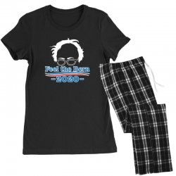 feel the bern 2020 shirt bernie sanders us president vote elections Women's Pajamas Set | Artistshot
