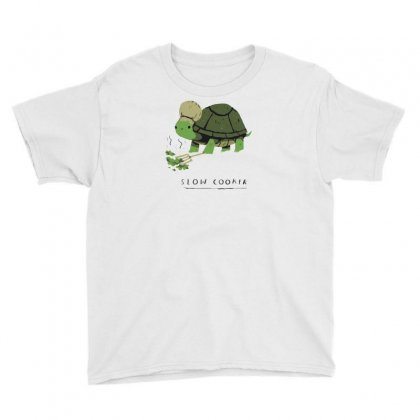 Slow Cooker Turtle Youth Tee Designed By Arsyad