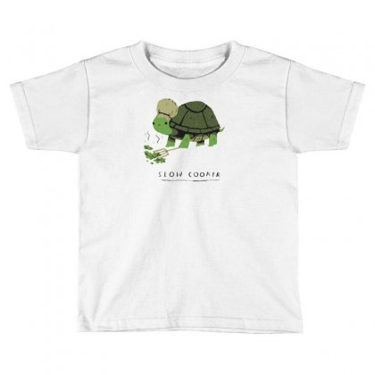Slow Cooker Turtle Toddler T-shirt Designed By Arsyad