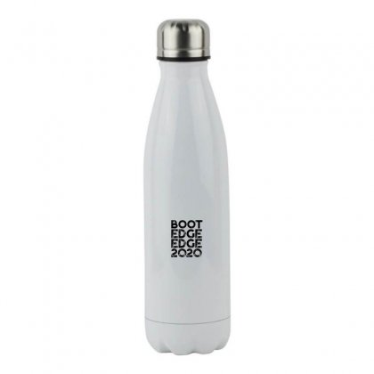 Boot Edge Edge 2020   Black Stainless Steel Water Bottle Designed By Meganphoebe