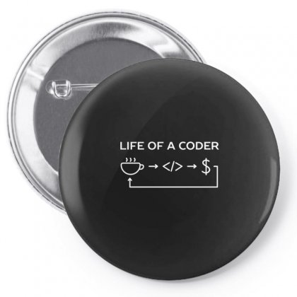 Web And Software Developer Coder Humor Pin-back Button Designed By Arsyad