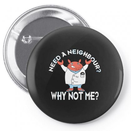 Why Not Me Pin-back Button Designed By Arsyad