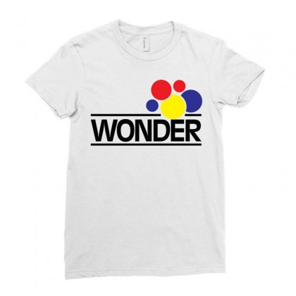 Wonder Bread Ladies Fitted T-shirt Designed By Artwoman