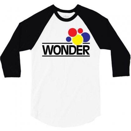Wonder Bread 3/4 Sleeve Shirt Designed By Artwoman
