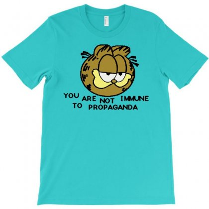 You Are Not Immune To Propaganda Garfield T-shirt Designed By Artwoman