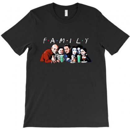 Emily Addams Family Friends Tv Show Halloween T-shirt Designed By Meganphoebe