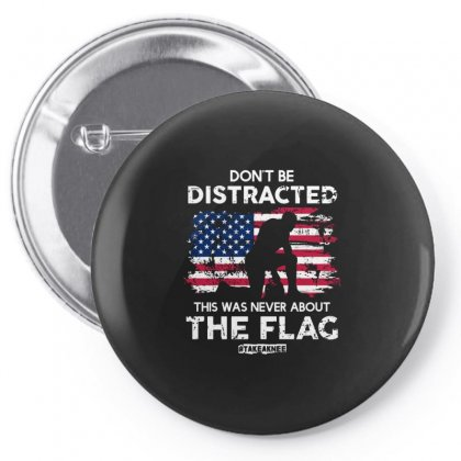 Don't Be Distracted Pin-back Button Designed By Balqis Tees