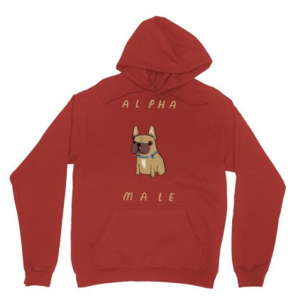 Alpha Frenchie Unisex Hoodie Designed By Artwoman
