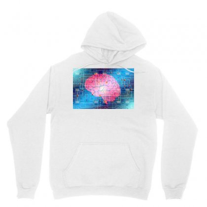 Evolution Artificial Intelligence Unisex Hoodie Designed By Salmanaz