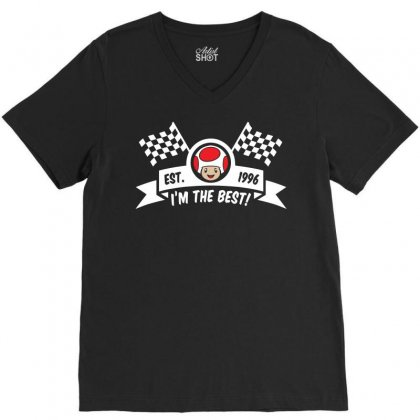 I'm The Best New V-neck Tee Designed By Asep