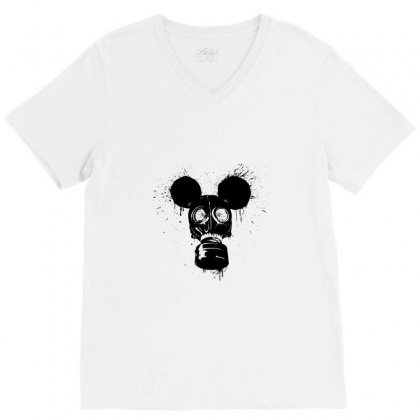 Gas Mousk V-neck Tee Designed By Tee Shop