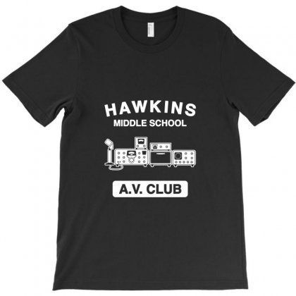 Hawkins Av Club T-shirt Designed By Tee Shop