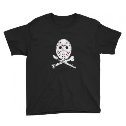 Hockey Mask Youth Tee Designed By Tee Shop